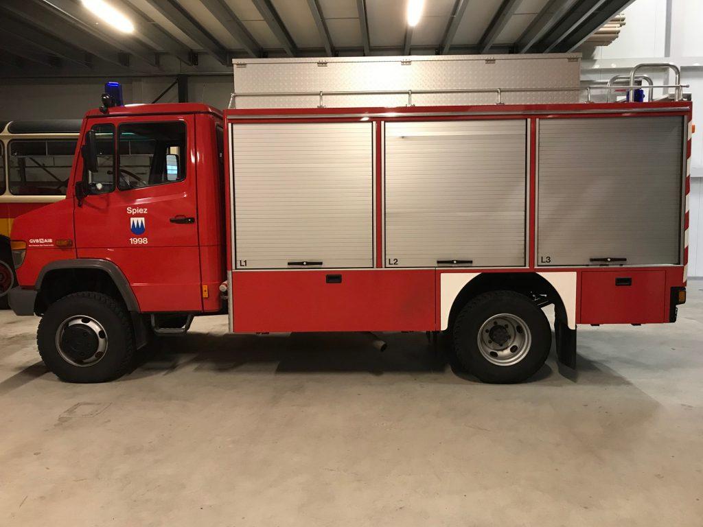 Vario in Originalzustand als Feuerwehrauto