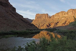 10_Am Colorado-River bei Moab beim Arches Nationalpark