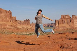 12_Flying Conny im Arches NP