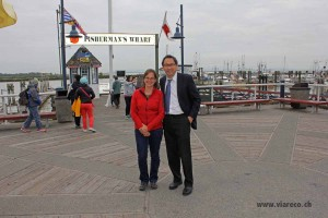 43_mit unserem Agenten GG Francisco in Steveston an der Fisherman's Wharf